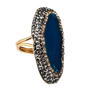 MAJARAJI BLUE RING
