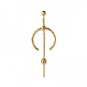 Hydra Medi Earring 18K gold plated