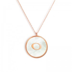 """O"" MONOGRAM NECKLACE"