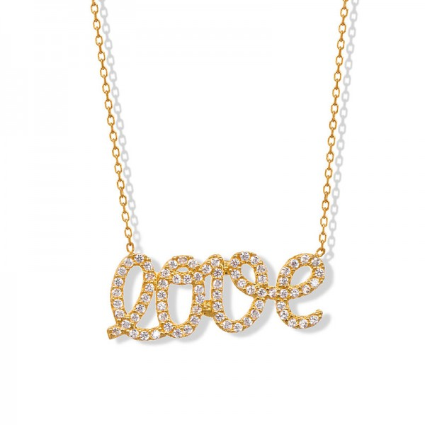 """LOVE"" GOLDEN NECKLACE"